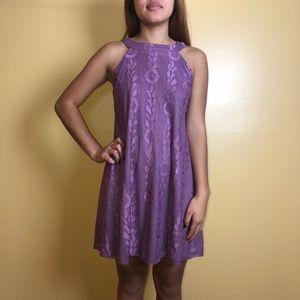 Purple Altar'd State Halter Dress